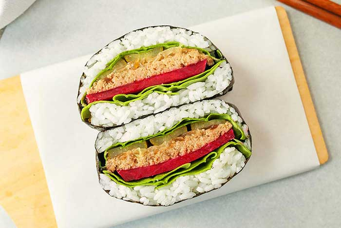 Serviervorschlah Sushi-Sandwich