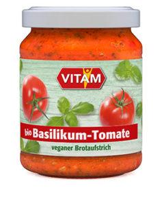 Basilikum-Tomate Brotaufstrich
