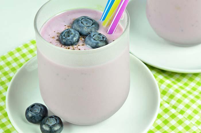 Blaubeer-Joghurt-Smoothie