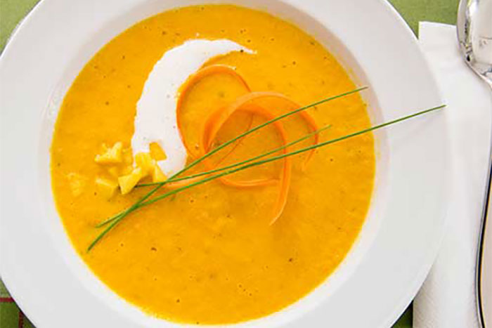 Mango-Möhren-Creme