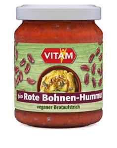 Rote Bohnen Hummus