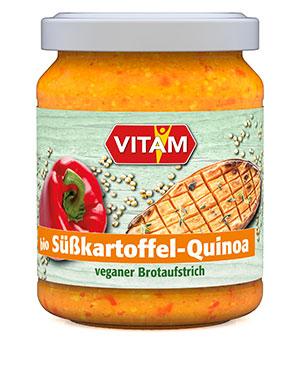 Packshshot Süßkartoffel-Quinoa Brotaufstrich