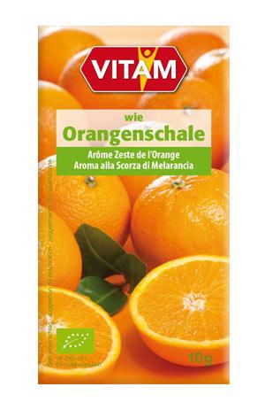 Packshot wie Orangenschale
