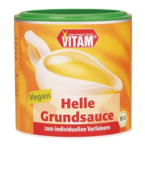 Packshot helle Grundsauce